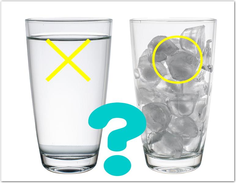 水はダメだけど氷はOK?:肝臓がん末期闘病記