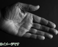 手のひらに白い粉:肝臓がん末期闘病記