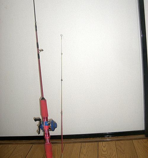 ワカサギ釣りの時に使用した釣り竿:肝臓がん末期闘病記