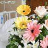 病室と花:肝臓がん末期闘病記