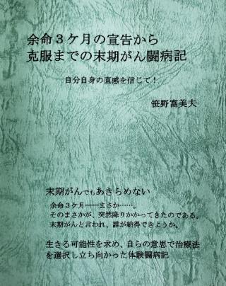 余命3ヶ月の宣告から克服までの末期がん闘病記:笹野富美夫